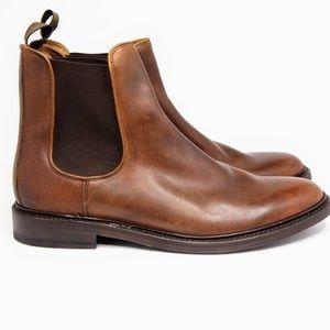 New Mens Frye Jones Chelsea Cognac Boots 13 US